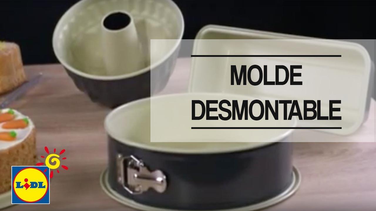Molde Desmontable Lidl España Youtube