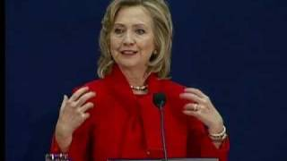 Secretary Clinton Gives Opening Remarks at U.S.-Northern Ireland Economic Conference