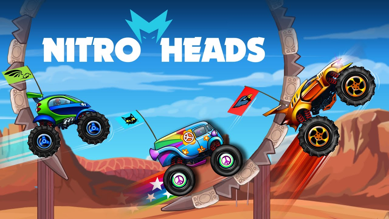 Nitro Heads: Online Multiplayer Racing Game