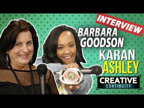 Power Rangers Rita Repulsa & Yellow Ranger: Barbara Goodson & Karan Ashley  Creative Continuity