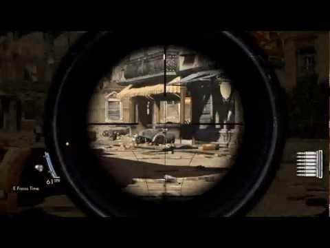 Sniper Elite V2 - การอ่านค่าเส้นเล็ง Scope กับระยะ