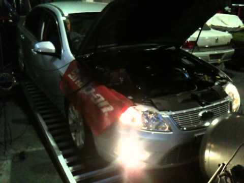RAPIDsystems G6ET Crescent Motorsport DYNO - YouTube