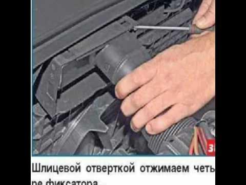 Снятие датчика охлаждающей жидкости Vw Polo Sedan
