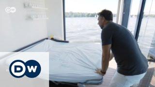 Waterfront luxury: a houseboat in Berlin | Euromaxx