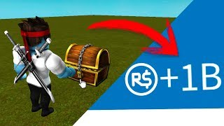IF YOU OPEN THIS COFRE GET +1 BILLON OF ROBUX FREE !!! Roblox [SAVING MYTHS]