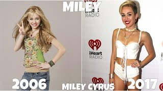 Hannah Montana Then And Now 2017