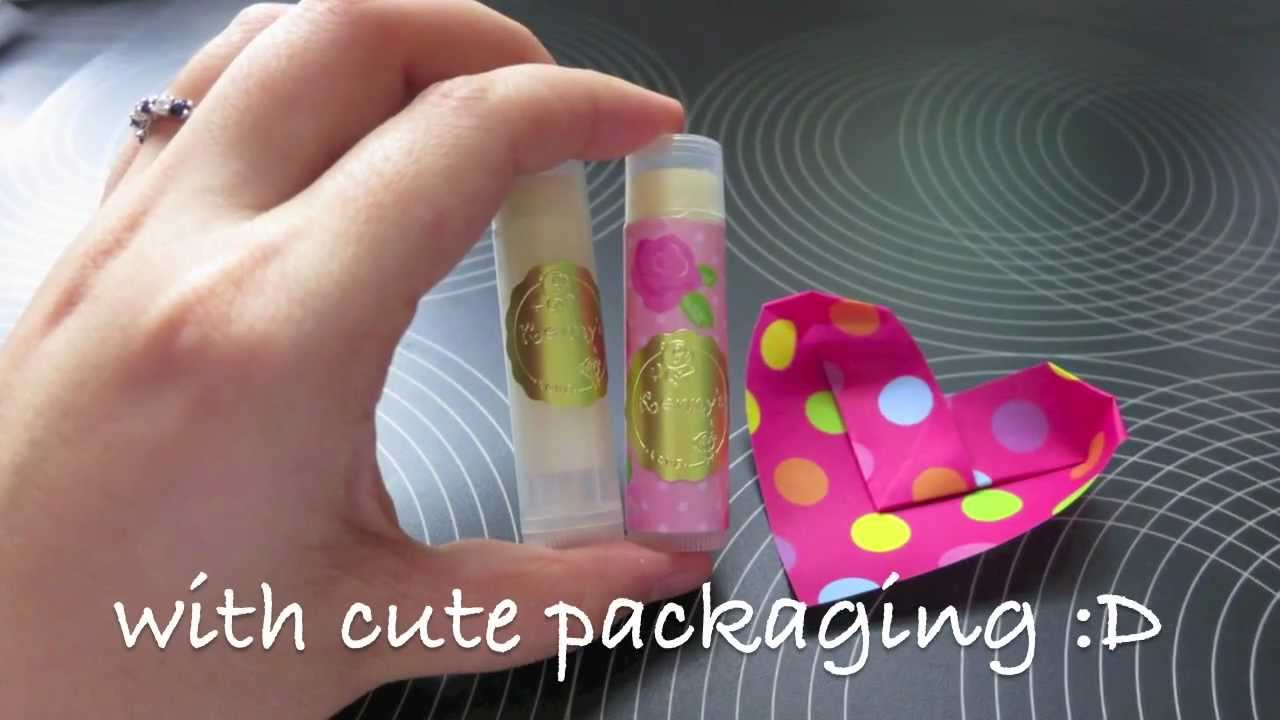 how to make lip gloss at home without vaseline