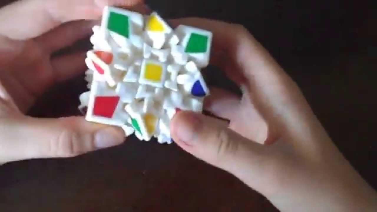 схема скоростной сборки кубика рубика 3*3