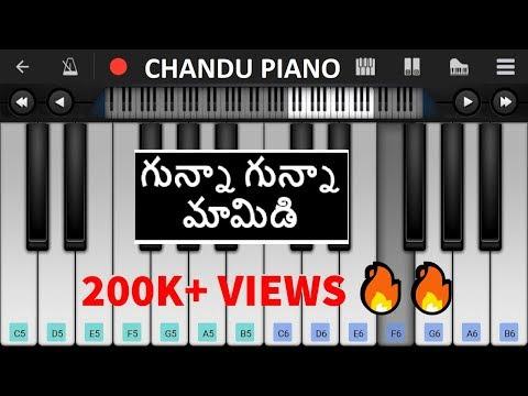 Gunna Gunna Mamidi - Piano Notes