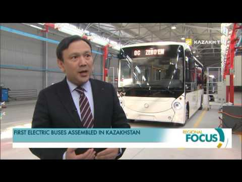 First electric buses collected in Kazakhstan