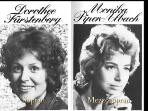 Brahms-Duette: Meere, Schwestern, Walpurgisnacht- Fürstenberg & Piper-Albach