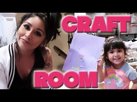 SNOOKI'S HOUSE TOUR - Nicole's Craft Room