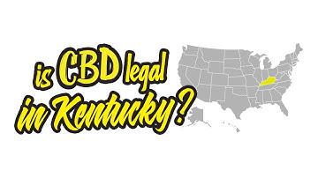 Is CBD legal in Kentucky?
