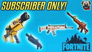 FORTNITE - Subscriber ONLY Item Giveaway! (LIVE)