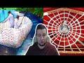 Поделки - Манурин смотрит: 12 МЕТРОВАЯ ПАУТИНА ИЗ СКОТЧА | ЛОДКА ИЗ 2000 БУТЫЛОК