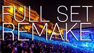 Skrillex Live @ Red Rocks Amphitheatre (Full Set Remake)