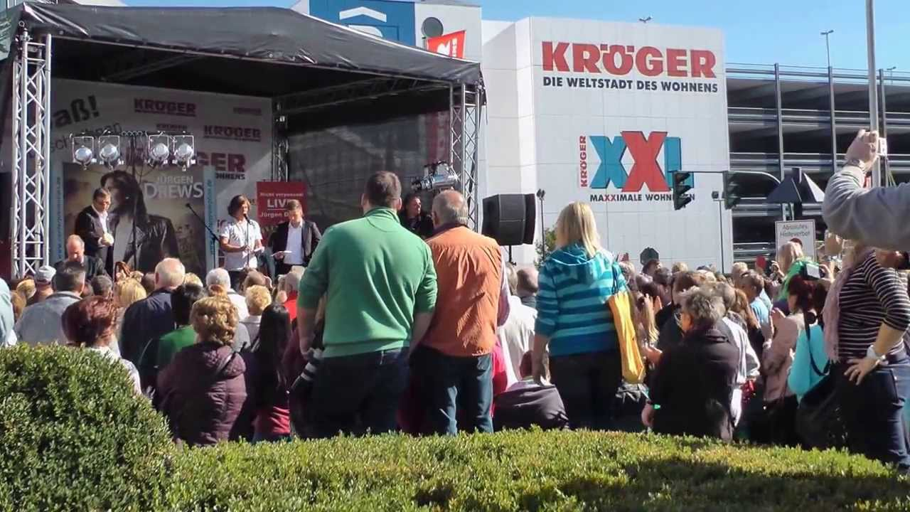 Jurgen Drews In Essen Bei Mobel Kroger 28 9 2013 Youtube
