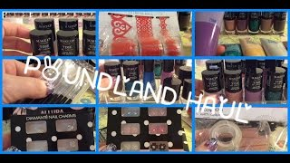Bargain Store Haul (Pound Land) By Gelulicious