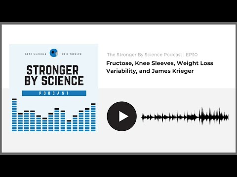 Fructose, Knee Sleeves, Weight Loss Variability, and James Krieger (Episode 30)