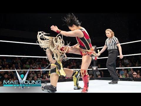 Meiko Satomura vs Lacey Lane  Quarterfinal Match: Mae Young Classic, Oct 17, 2018
