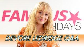 DeVore Ledridge Q&A