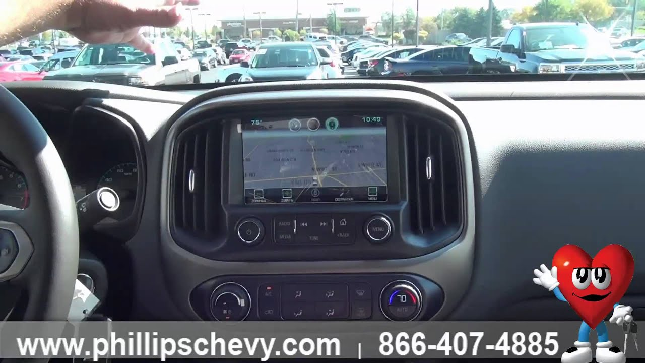 Phillips Chevrolet 2015 Chevy Colorado Touch Screen