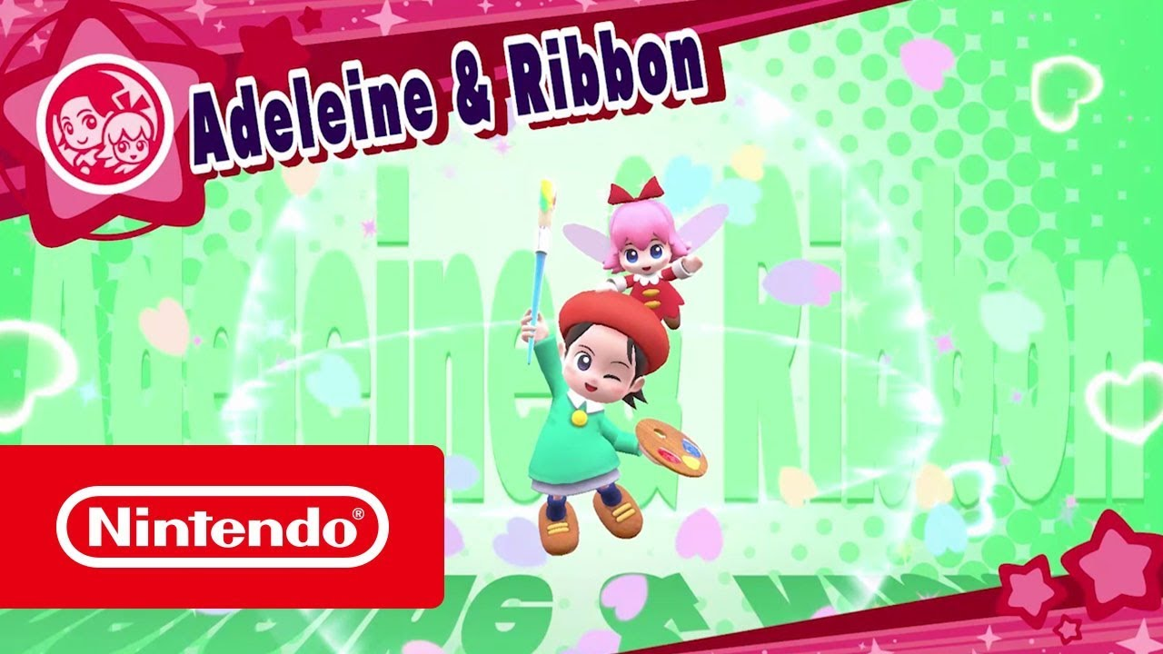 Kirby Star Allies DLC - Adeleine & Ribbon (Nintendo Switch)