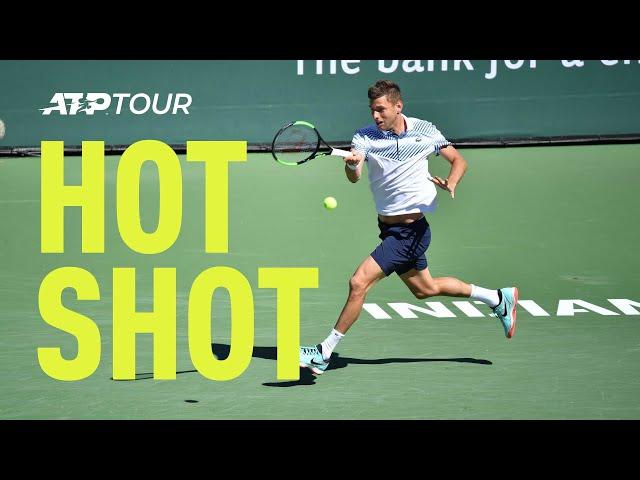 Hot Shot: Krajinovic Laces Forehand Winner At Indian Wells 2019