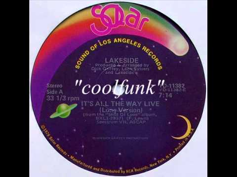 """Lakeside - It's All The Way Live (12"""" Funk 1978)"""