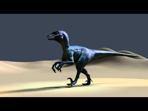 Deinonychus in cycles render