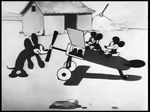 Mickey Mouse - Plane Crazy - HD