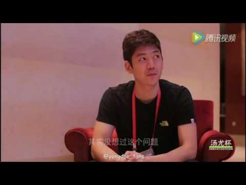 2016 Lee yong dae interview in the Kunshan 이용대