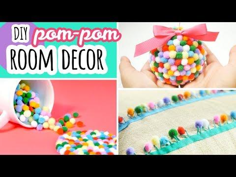 DIY Room Decor | Pom-Pom Crafts