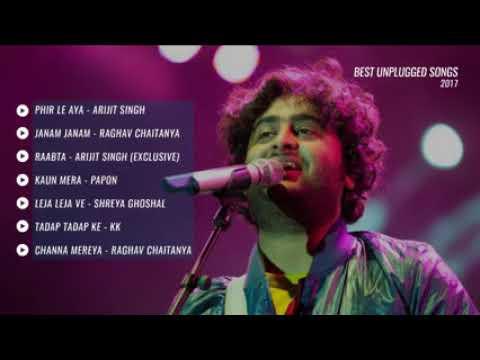 Best Hindi Unplugged Songs 2017 Jukebox YouTube