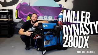 homepage tile video photo for JUST GOT THE BEST WELDING MACHINE EVER! MILLER DYNASTY 280DX TIGRUNNER