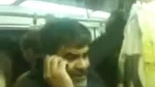 فحش دادن پیر مرد تو مترو