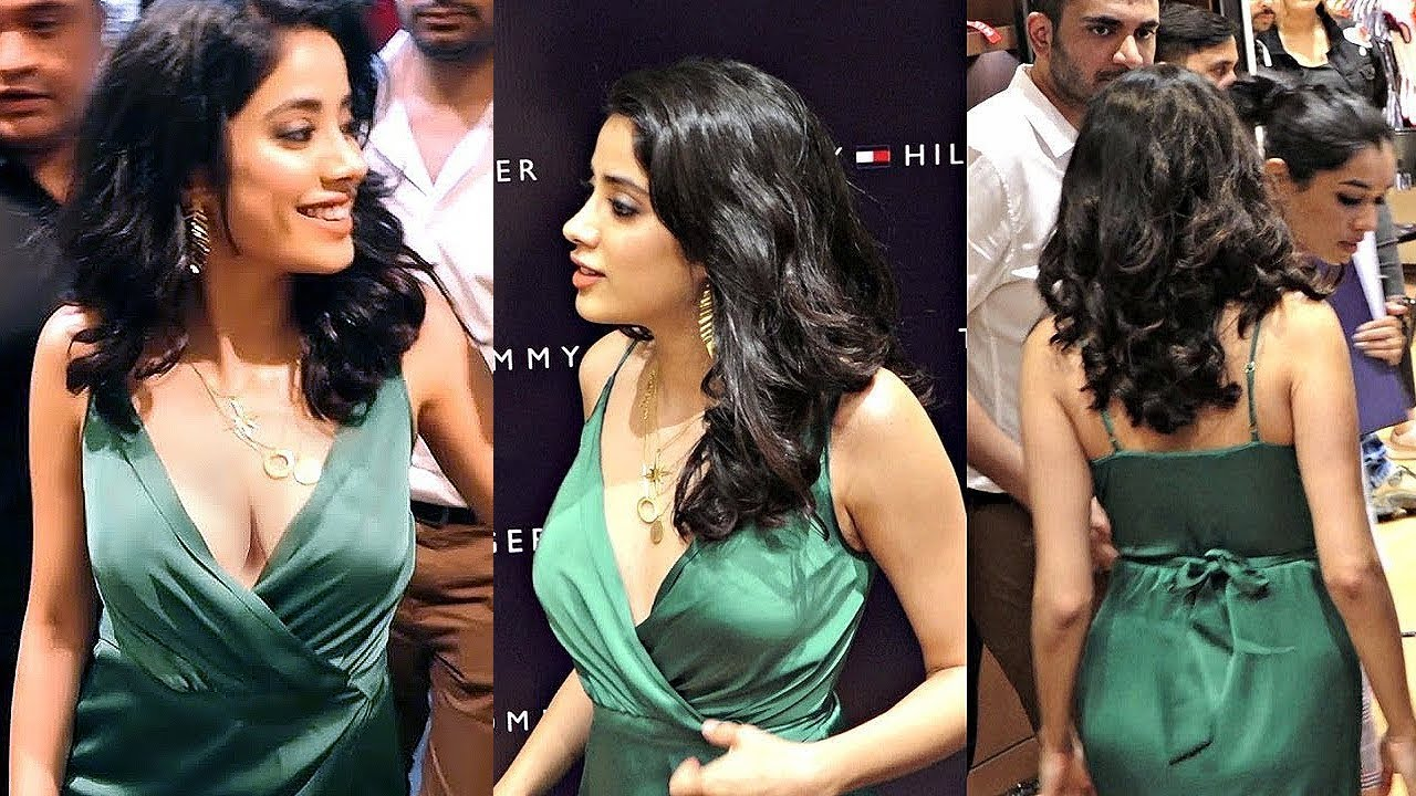31eb91f10e Janhvi Kapoor s Look Stunning at Tommy Hilfiger New collection Launch