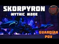 Atardecer vs. Skorpyron Nighthold Mythic Guardian Druid PoV