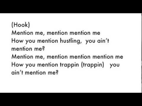 Gucci Mane - Mention Me Lyrics