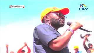 Migori governor Zacharia Okoth Obado described as 'warmonger'
