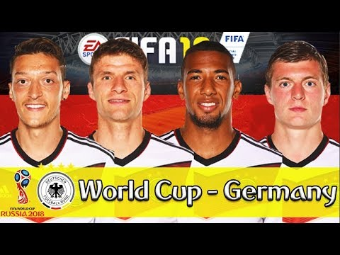 GERMANY WORLD CUP FULL SERIES!!! FIFA 18: GERMANY 2018 WORLD CUP CAREER MODE!