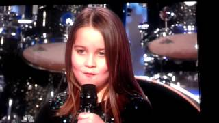 Little Girl Singing Screamo - America