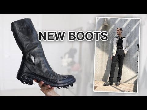 Styling a New Shoe Pickup (Carol Christian Poell Boots) SPRING OUTFITS