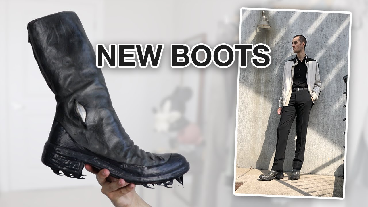 Styling a New Shoe Pickup (Carol Christian Poell Boots) SPRING OUTFITS 6