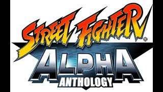 Street Fighter Alpha Anthology ps2 gameplay