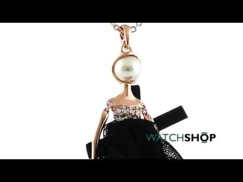 3196cb257 Ted Baker Jewellery Ladies  Rose Gold Plated Bijou Pave Ballerina Pendant  (TBJ1324-24-05)