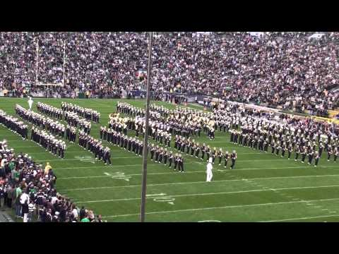 Notre Dame Marching Band Pre-Game Show 1 of 2 - September 25, 2010.mp4