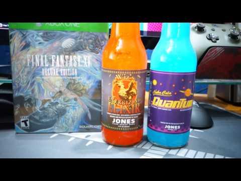 Final Fantasy XV Wiz's Energizing Elixir by Jones Soda
