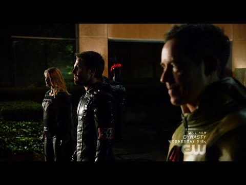 Download Arrow | Crisis on Earth-X | Dark Arrow, Overgirl & Reverse Flash Reveal Themselves to Earth 1 Heroes