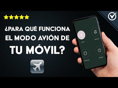¿Para qué Funciona el Modo Avión de un Móvil Android ó iPhone y Cómo Utilizarlo?